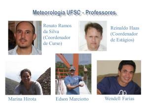 Meteorologia - Professores